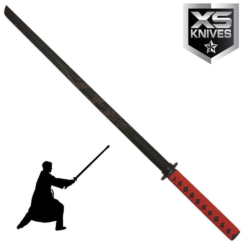 """40"""" Samurai Katana Practice Sword Bokken Kendo Wooden for ..."""