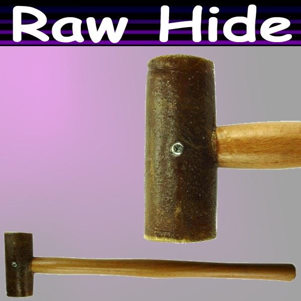 how to use a rawhide hamer