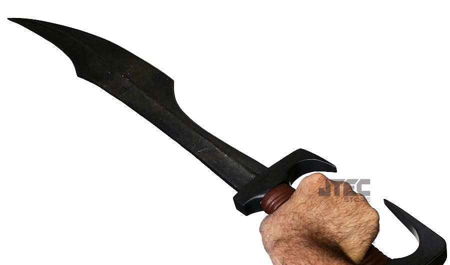 REAL HAND FORGED Leonidas 300 Spartan Sword FULL SIZE ...