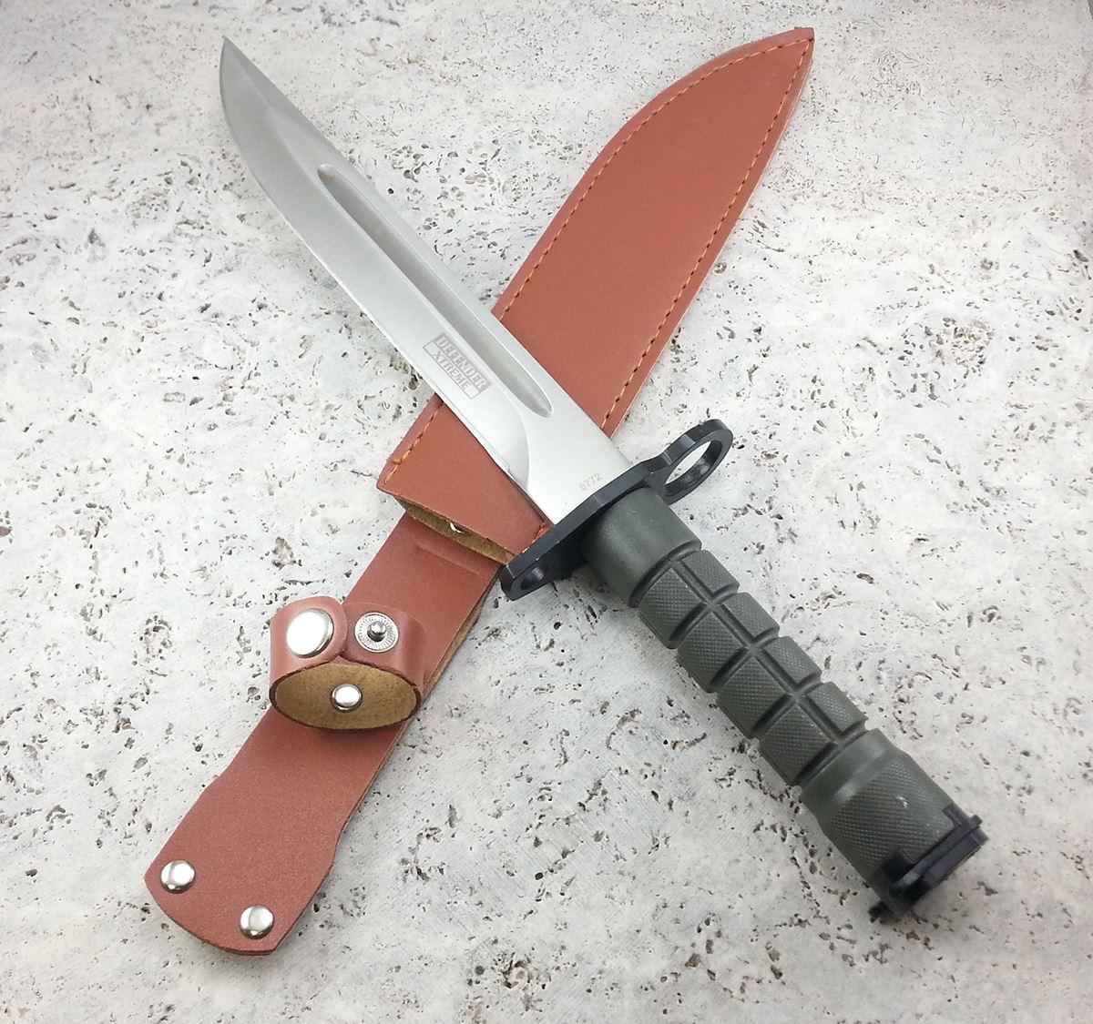 """13"""" SURVIVAL BAYONET US Military Tactical Hunting Knife ..."""