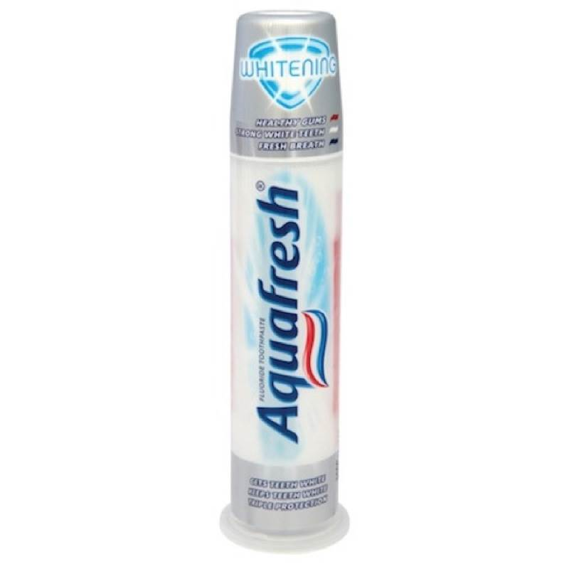 Aquafresh Whitening Toothpaste Pump - 100Ml | eBay