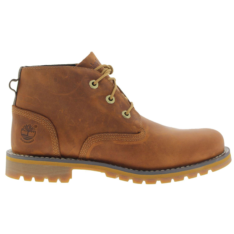 timberland larchmont waterproof chukka brown mens boots ebay