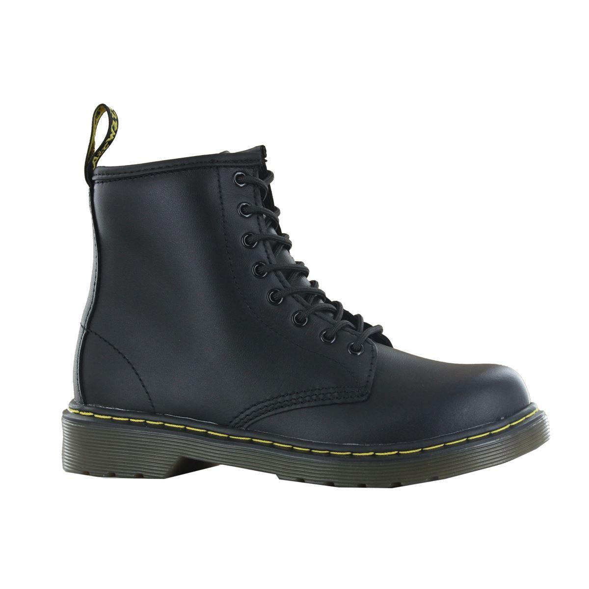 dr martens delaney black leather boots ebay