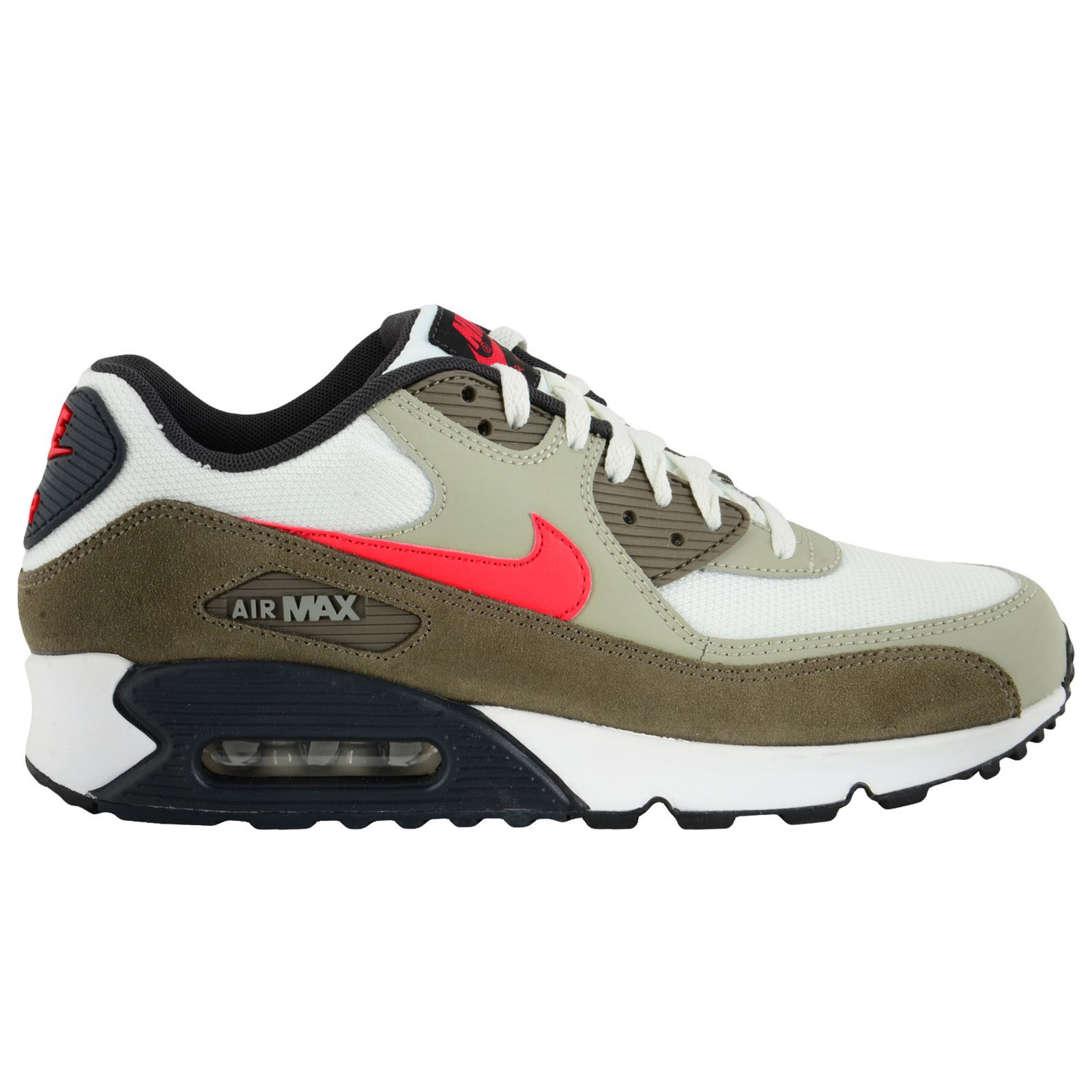 new product b2c2e b6501 qebod Nike Air Max 90 Essential Leather Mens Trainers   eBay