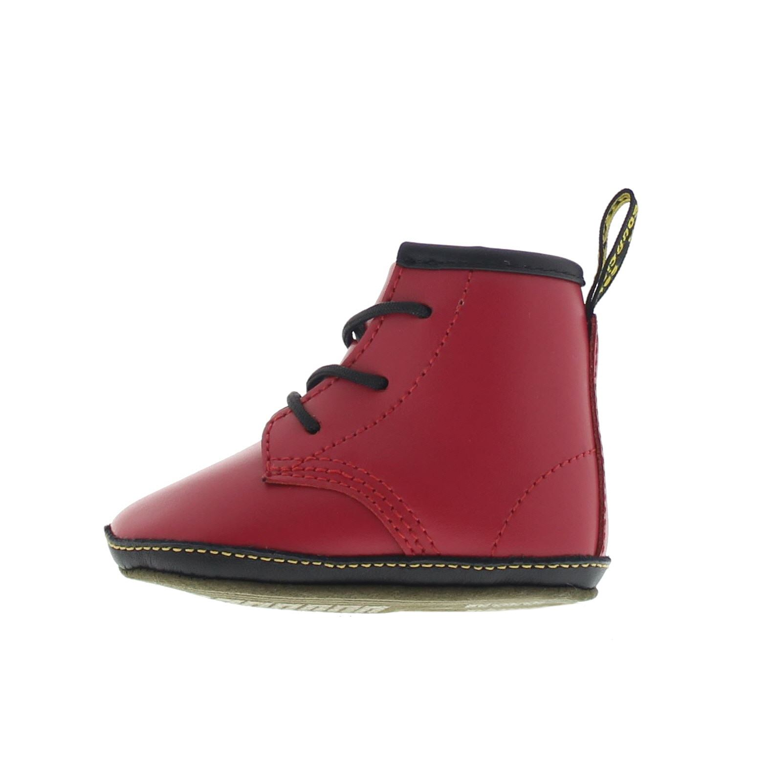 Dr Martens Auburn Crib Bootie Leather Infants Baby Lace Up Soft