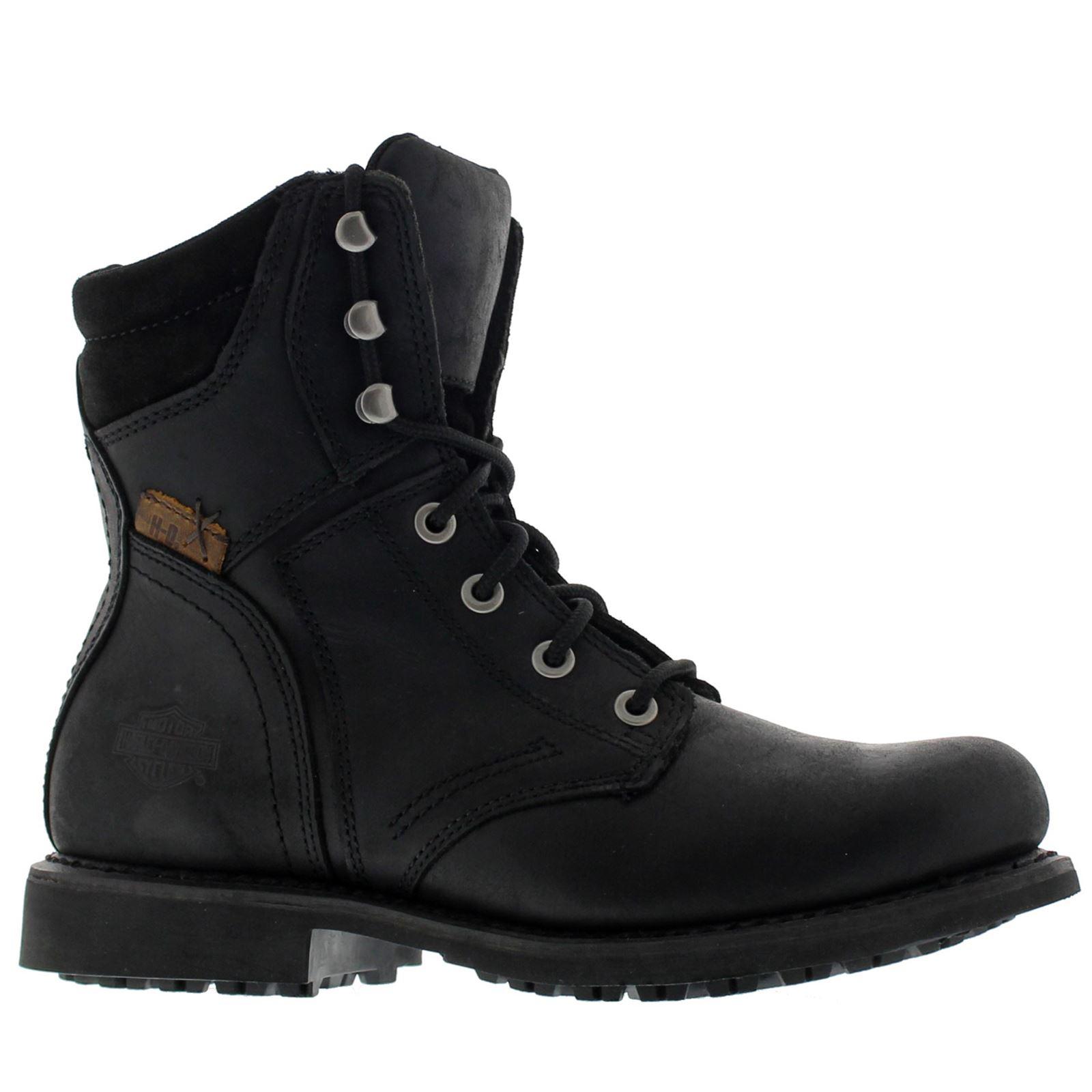 harley davidson darnel black mens boots ebay