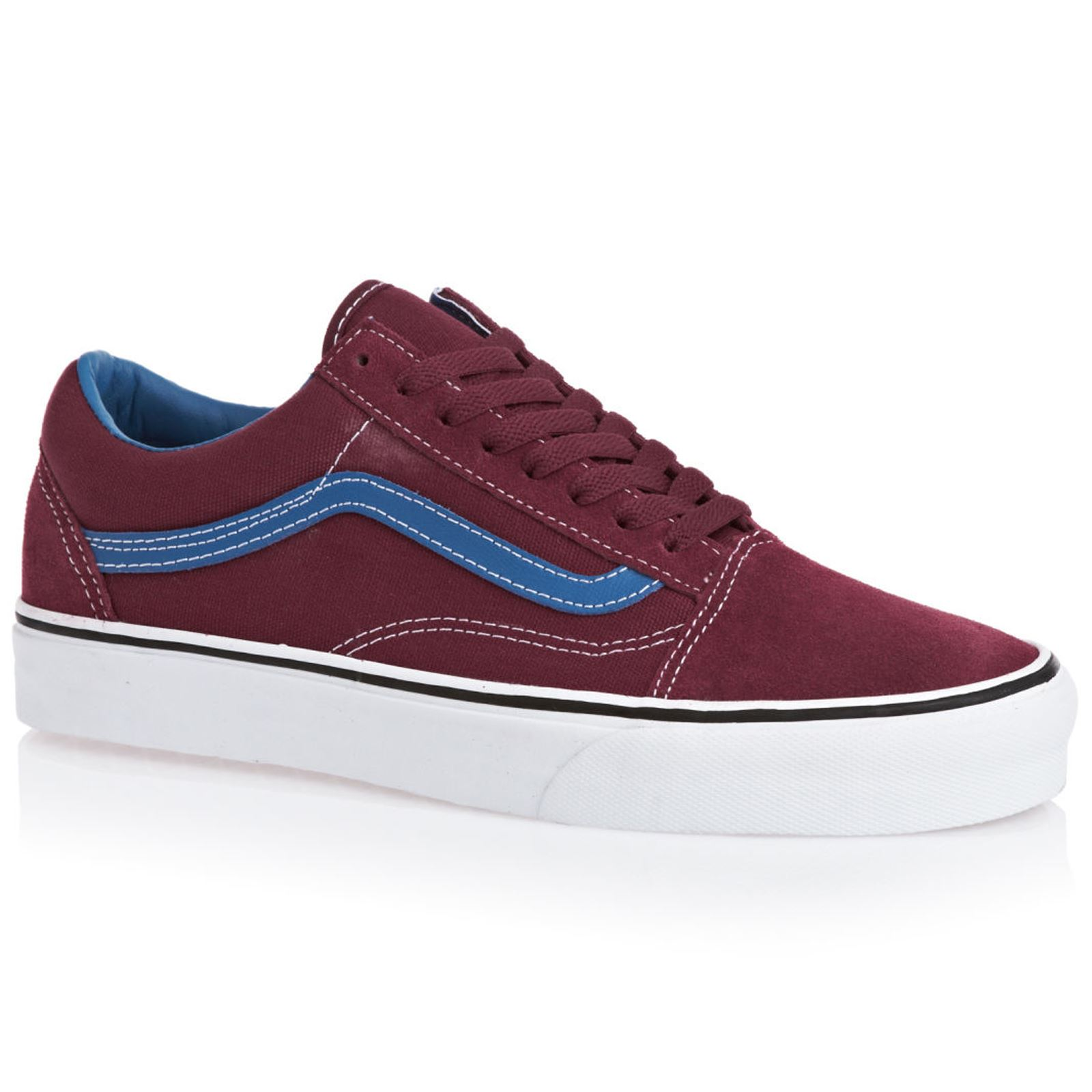 Vans Old Skool Burgundy Mens Trainers - VVOKC5P | eBay