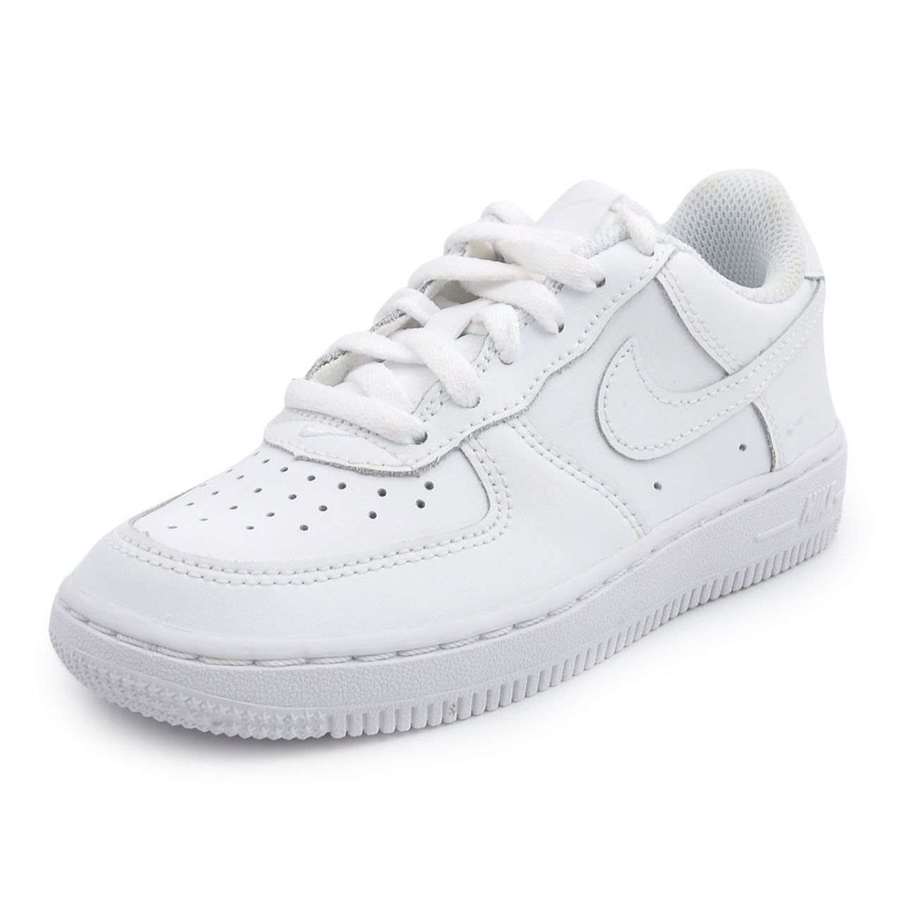 nike air force 1 low leather kids trainers ebay. Black Bedroom Furniture Sets. Home Design Ideas