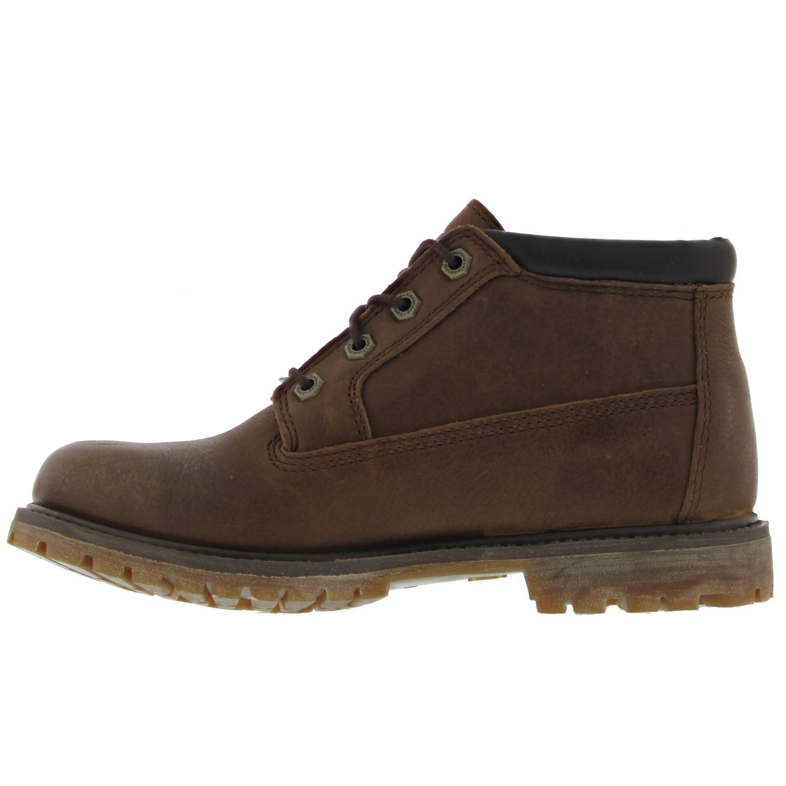 Timberland Nellie Chukka Double Dark Brown Womens Boots