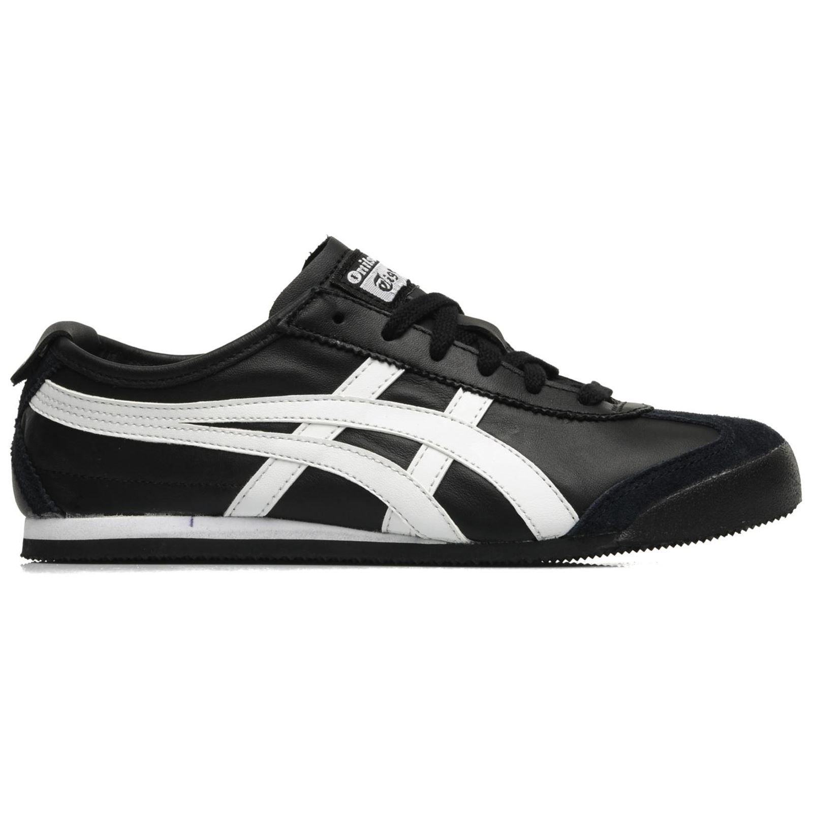onitsuka tiger mexico 66 black and pink junior iii