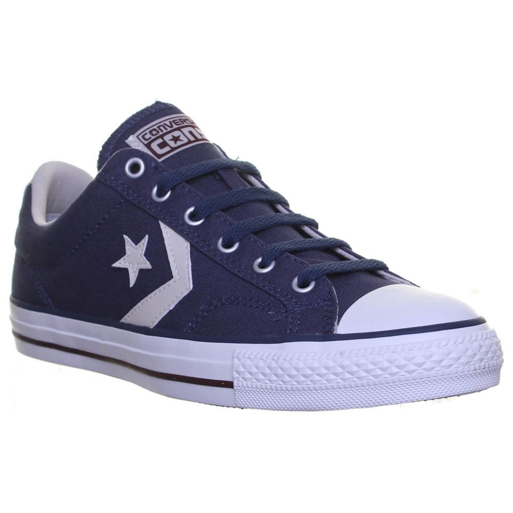converse star player navy white