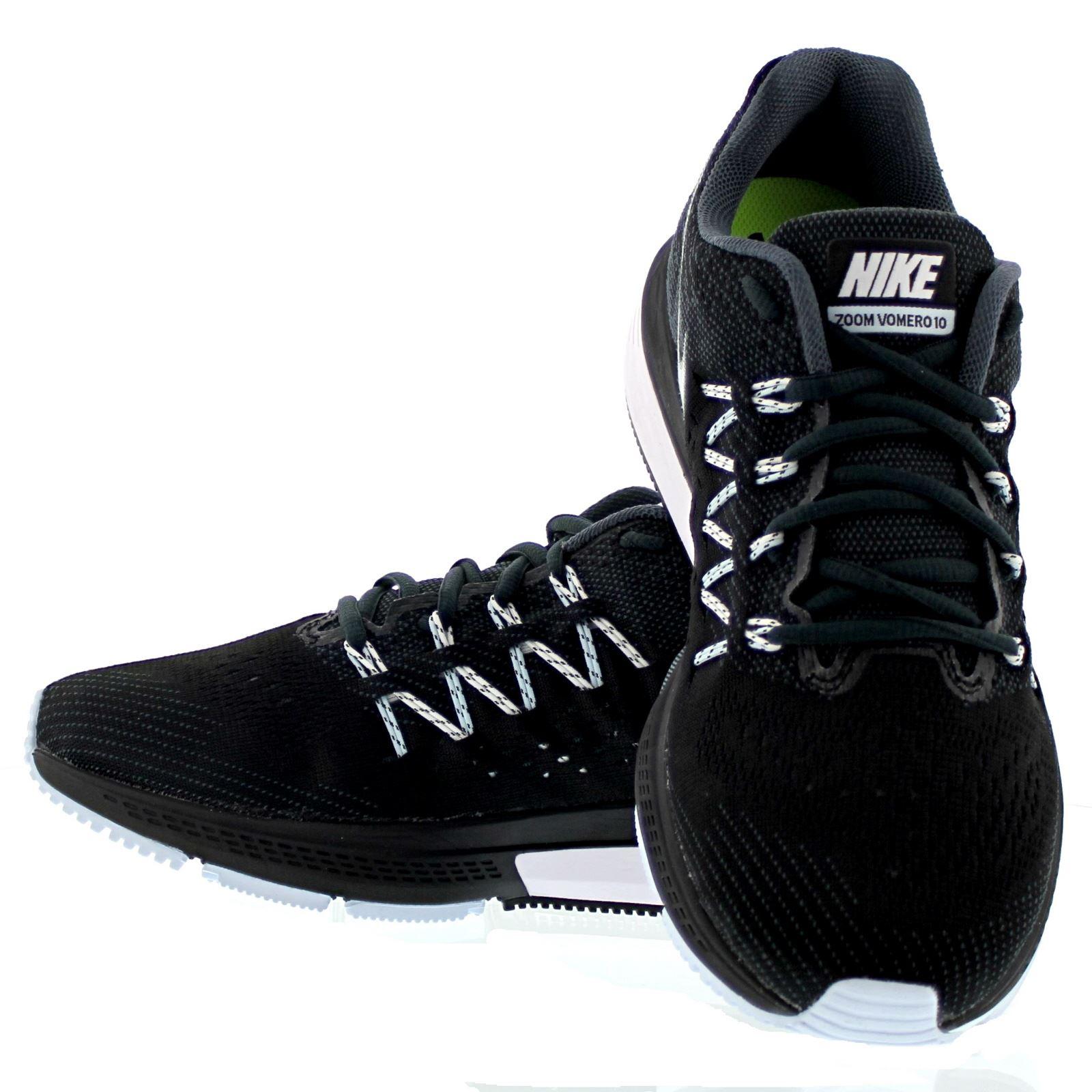 Nike Men S Air Zoom Vomero  Running Shoe Black