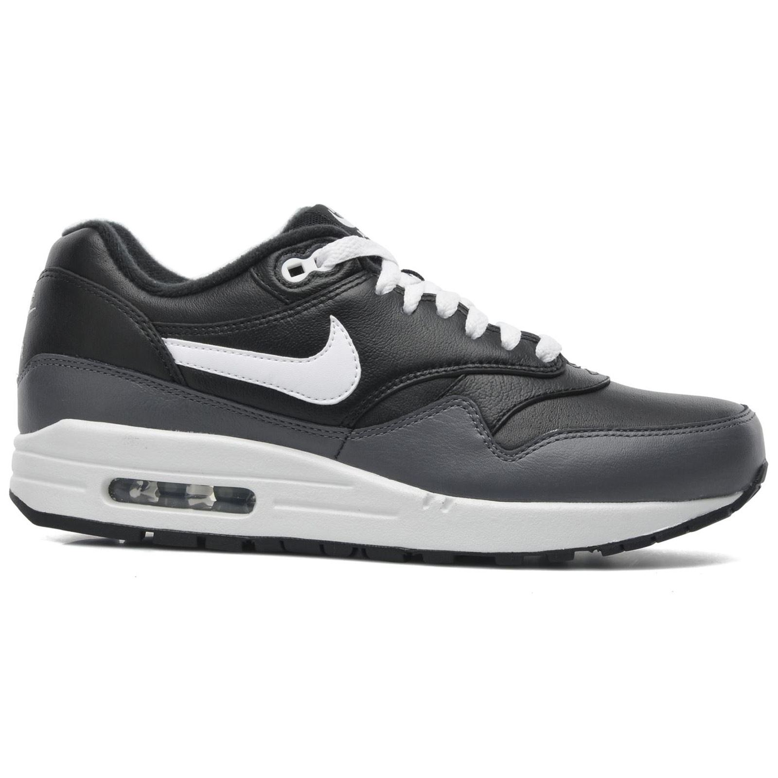 fcrvz Nike Air Max 1 LTR Leather Mens Trainers | eBay