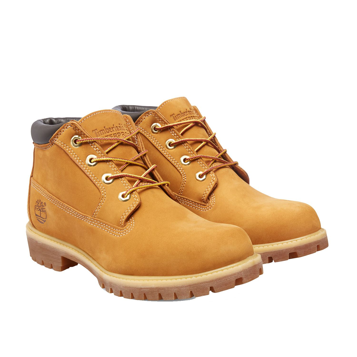 timberland waterproof chukka leather mens boots