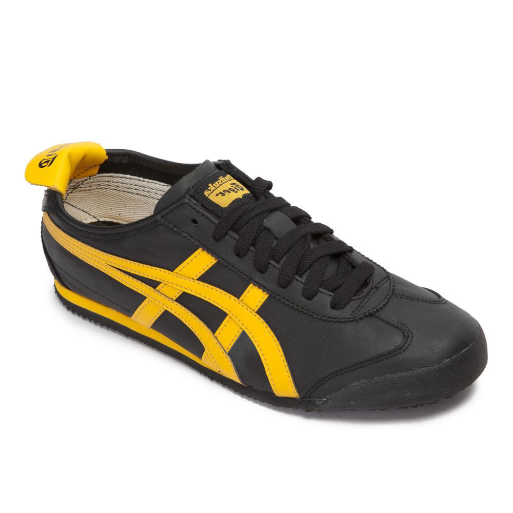 onitsuka tiger mexico 66 leather mens sports casual trainers ebay. Black Bedroom Furniture Sets. Home Design Ideas