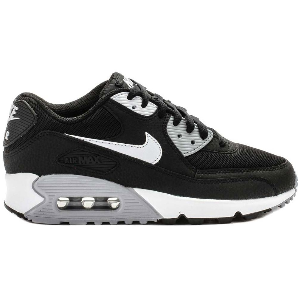 Image is loading Nike-Air-Max-90-Essential-Black-White-Womens-