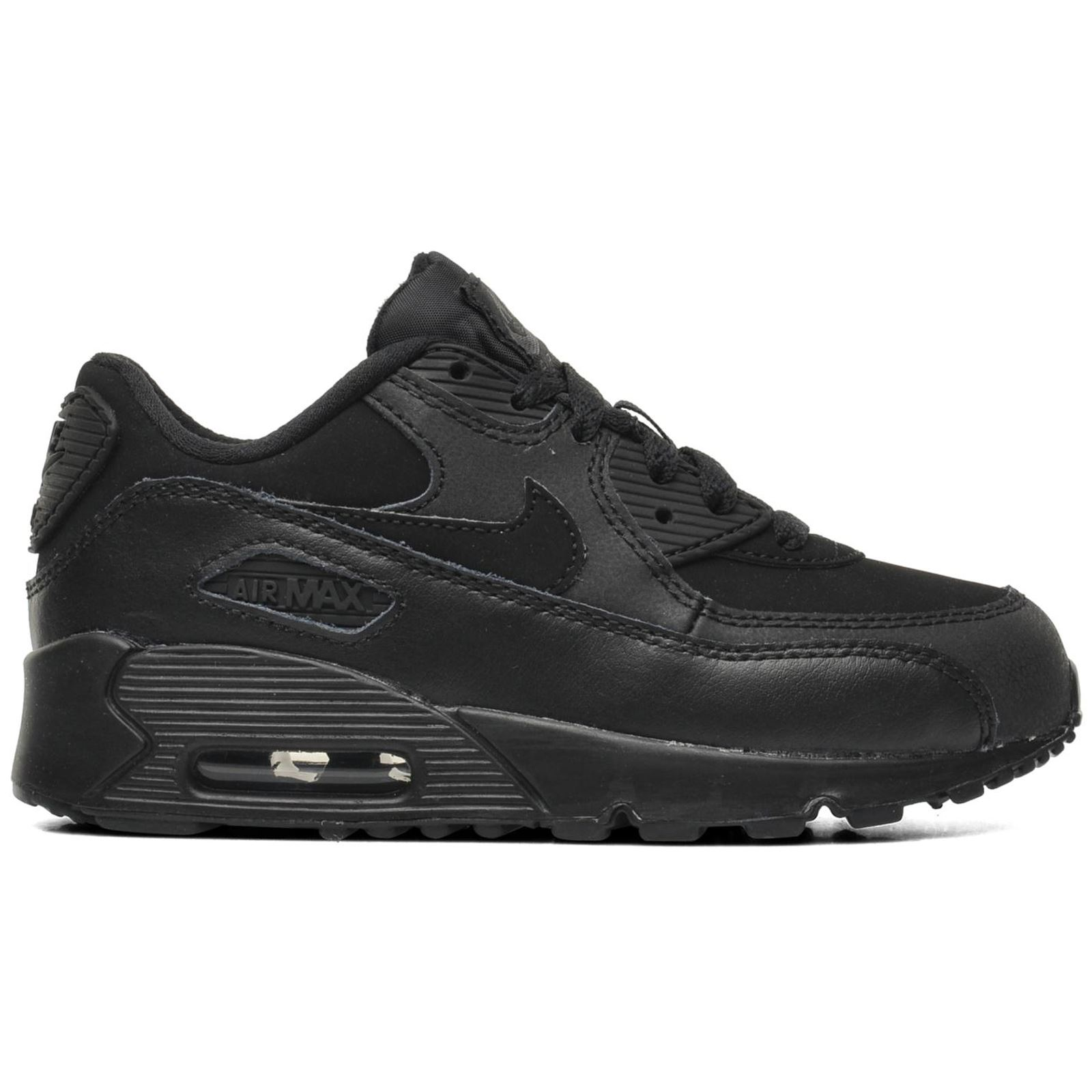 nike air max 90 leather kids trainers ebay. Black Bedroom Furniture Sets. Home Design Ideas