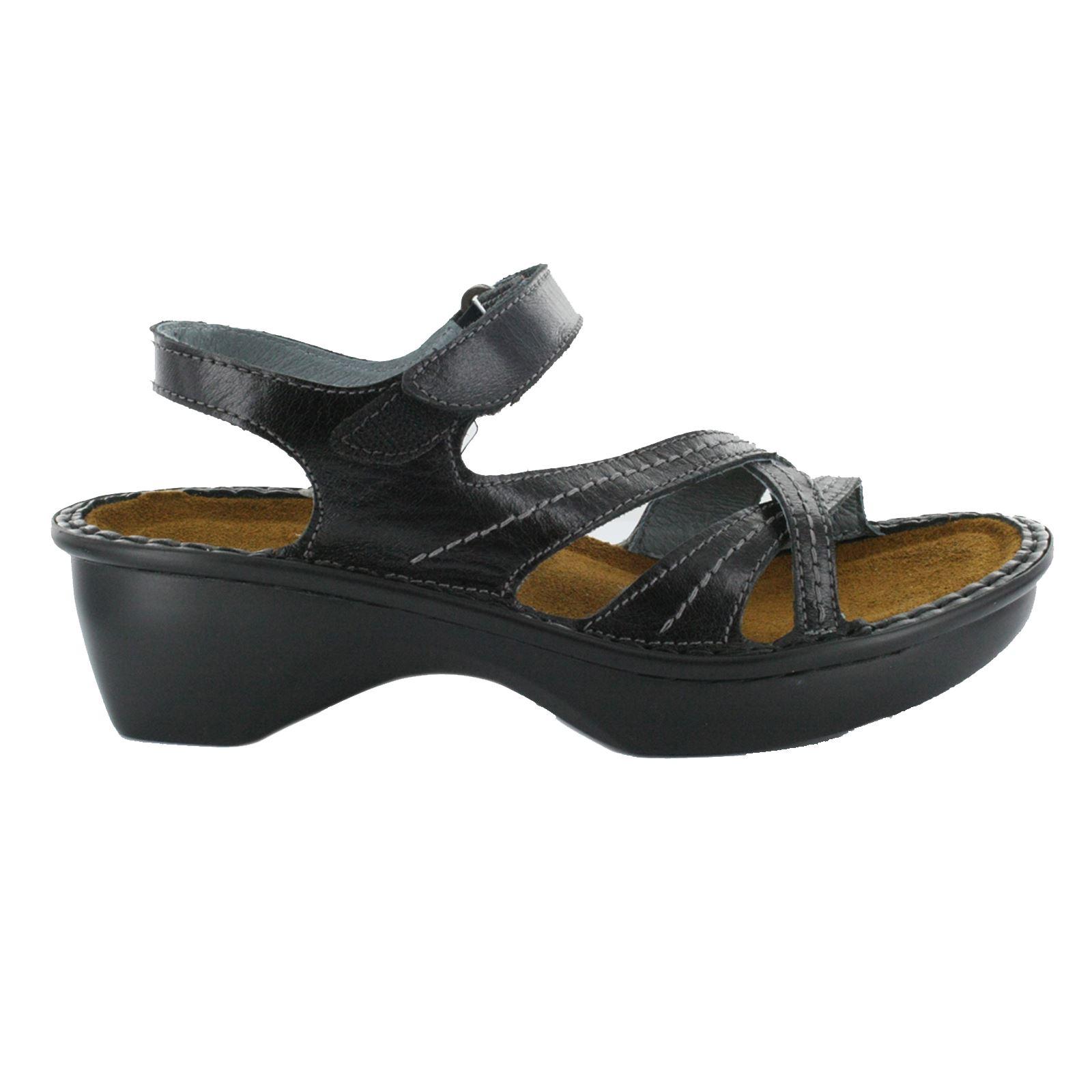 Naot Shoes Black Velcro