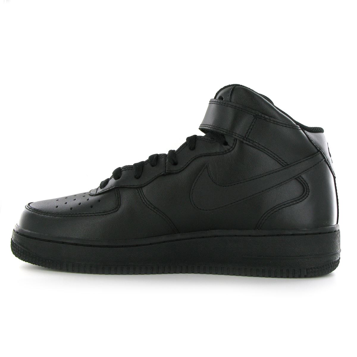 Nike-Air-Force-1-Mid-07-Leather-Mens-Trainers
