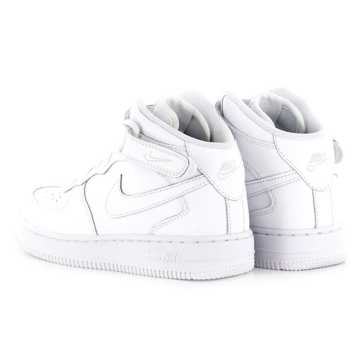 nike air force 1 leather kids trainers ebay. Black Bedroom Furniture Sets. Home Design Ideas