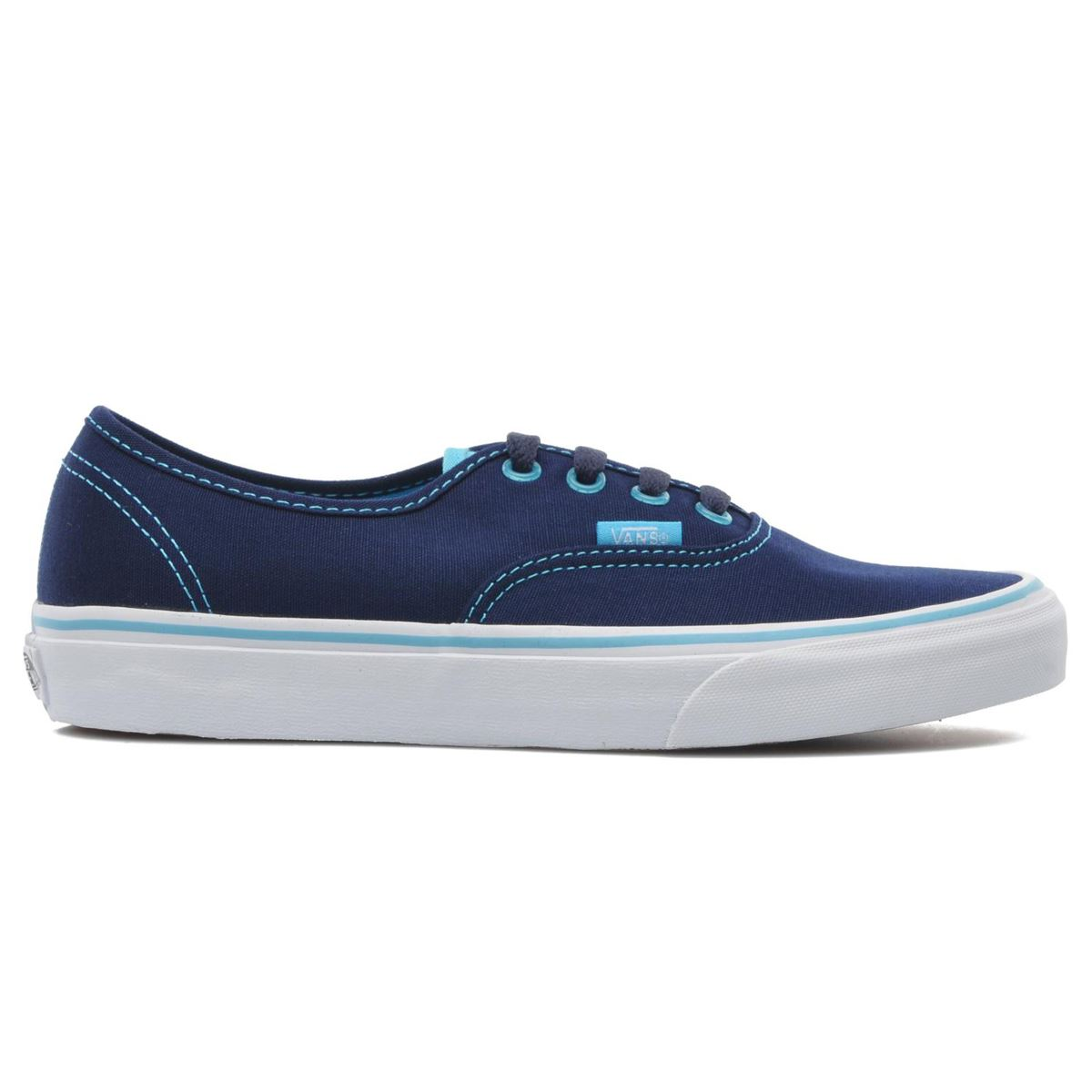 zapatillas vans azul claro mujer