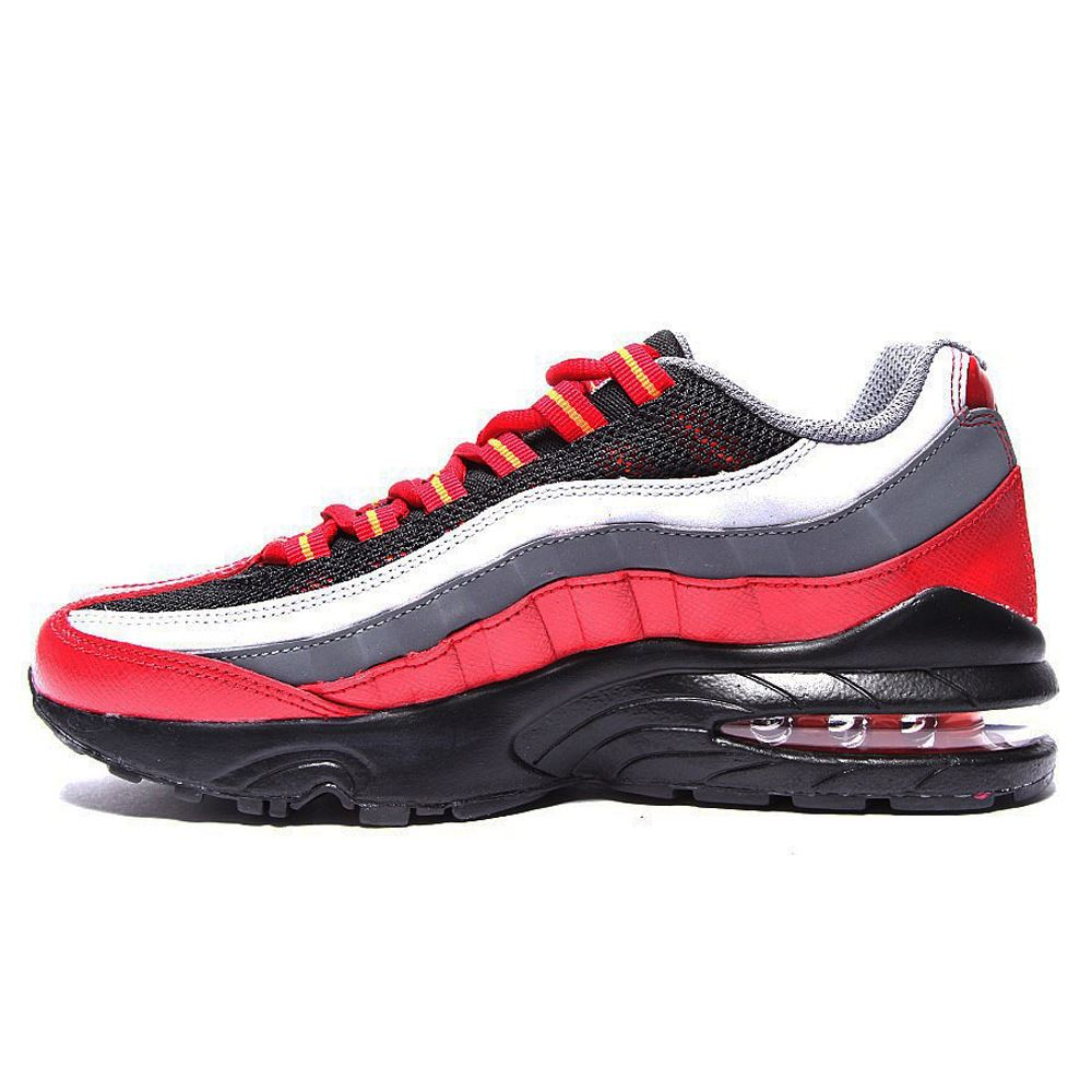 nike air max 95 leather youth trainers ebay. Black Bedroom Furniture Sets. Home Design Ideas