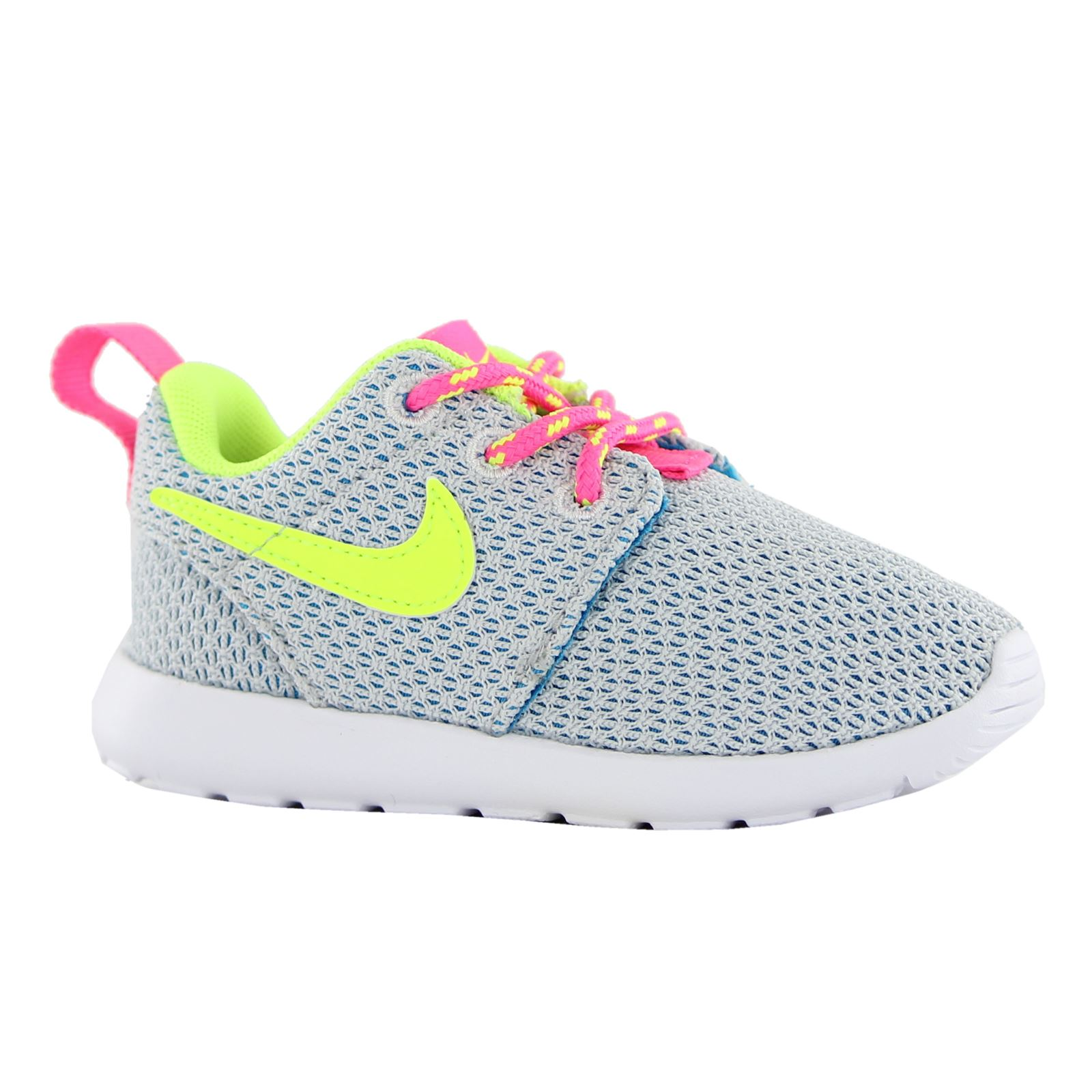 Nike Roshe Run Grey Kids Trainers - 659374-008