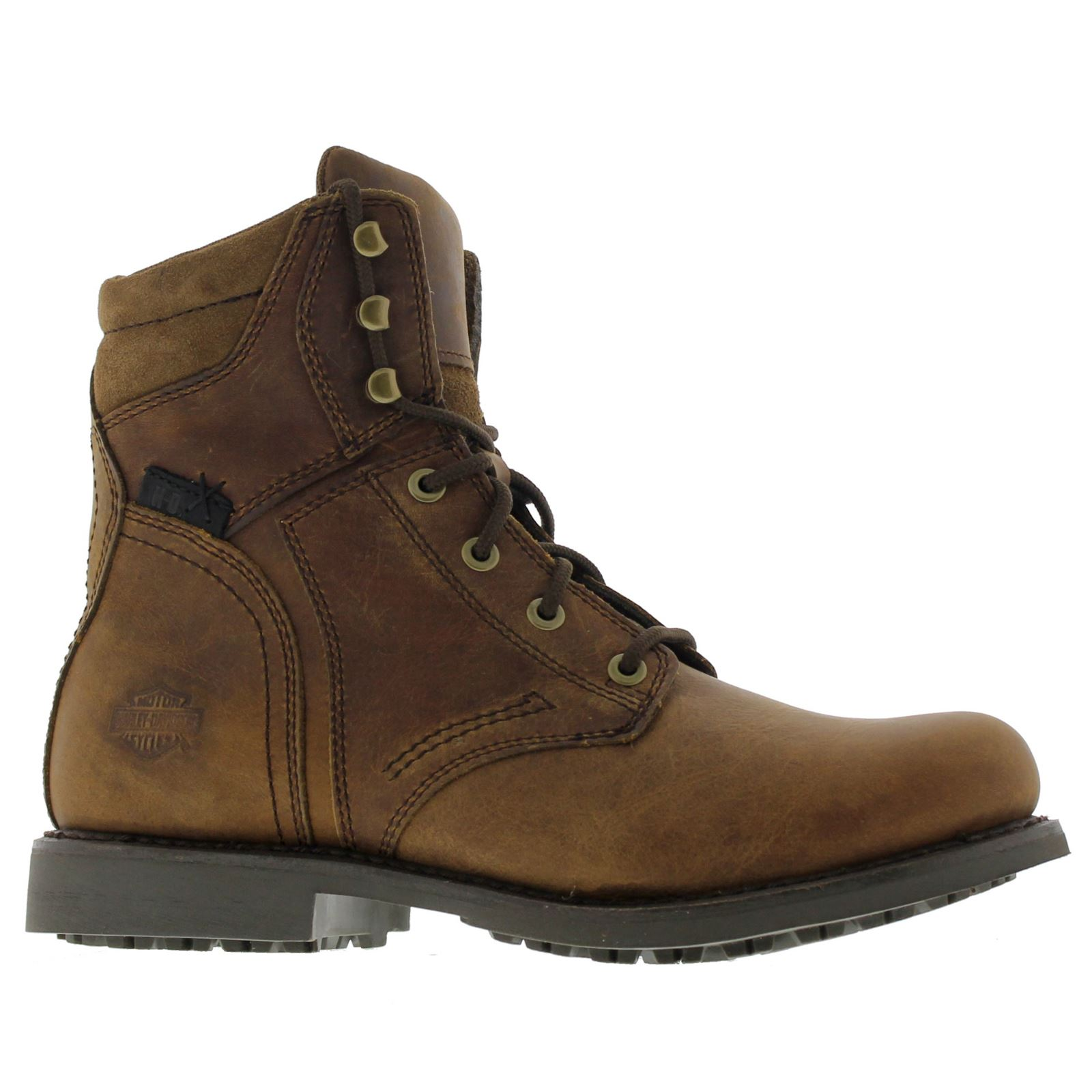 harley davidson darnel brown mens boots ebay