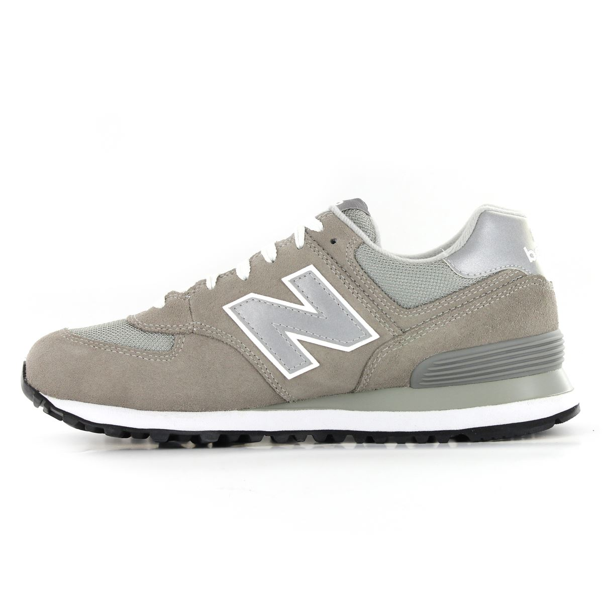 new balance classic traditionnels m574 leather mens trainers ebay. Black Bedroom Furniture Sets. Home Design Ideas