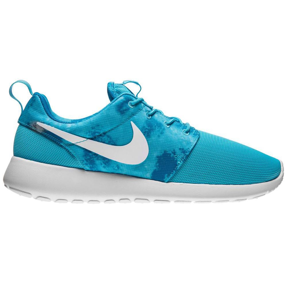 details about nike roshe run print light blue womens trainers 599432. Black Bedroom Furniture Sets. Home Design Ideas