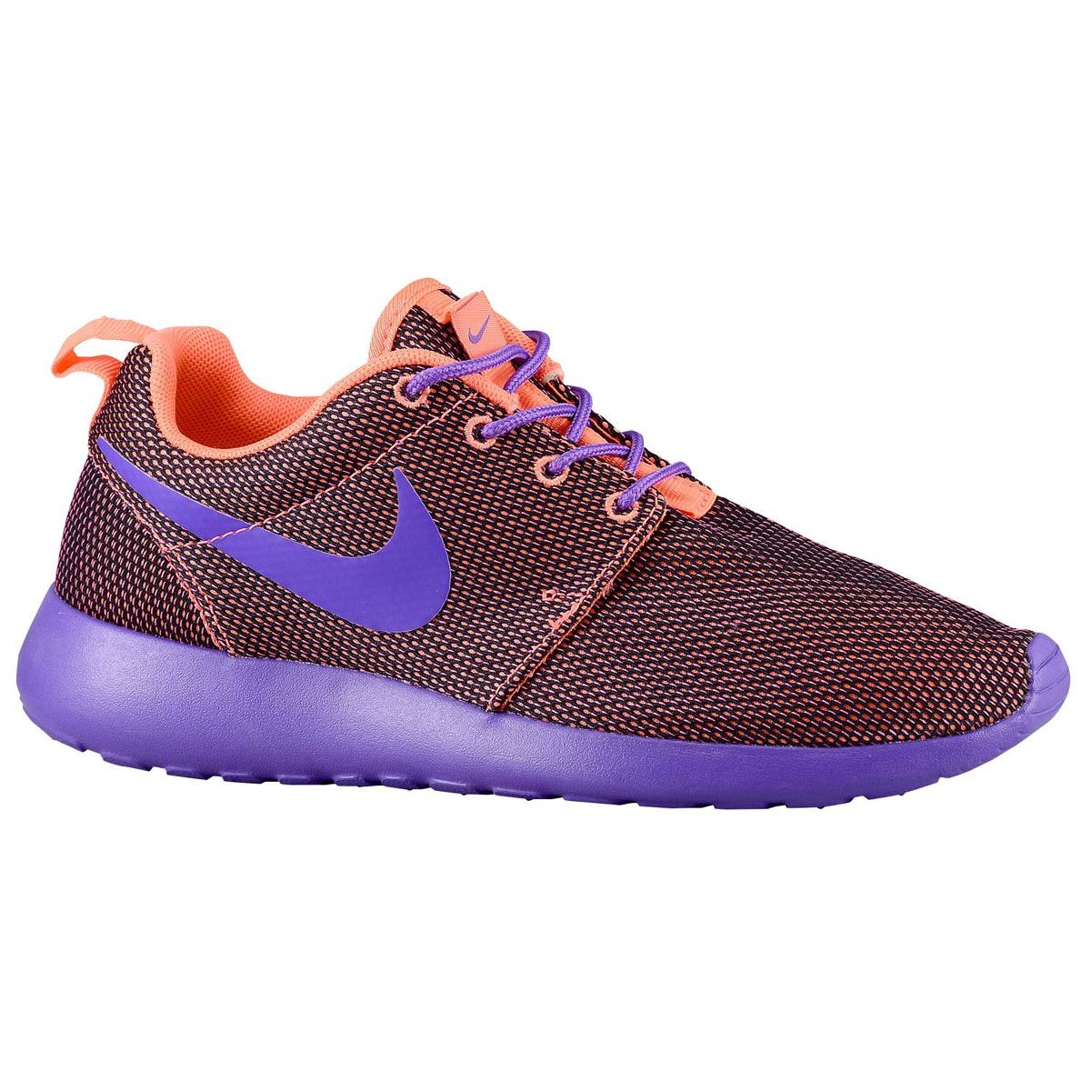 Nike Roshe Run Maroon Womens Trainers - 511882-852