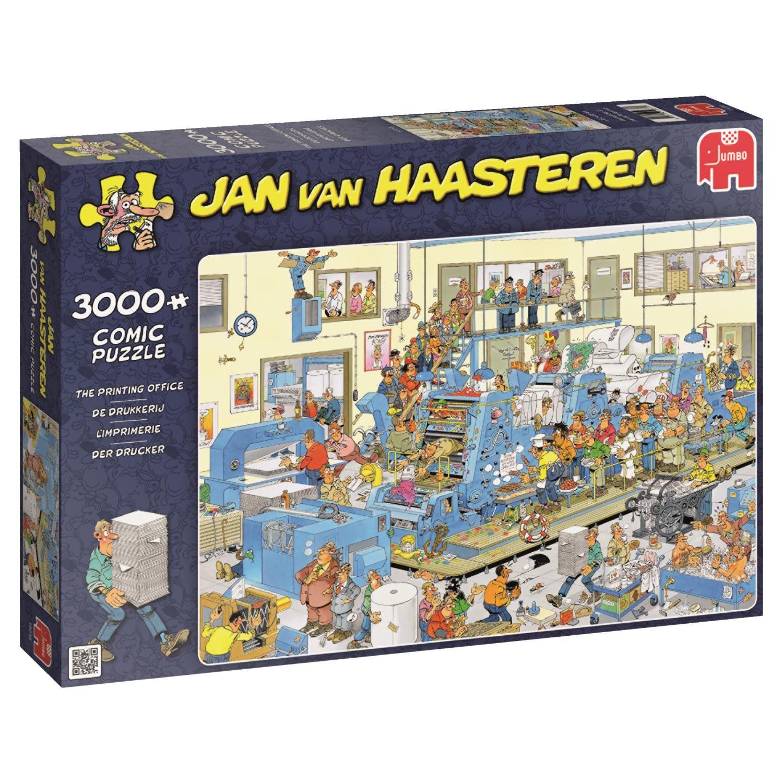 jan van haasteren the printing office 3000 piece jigsaw. Black Bedroom Furniture Sets. Home Design Ideas