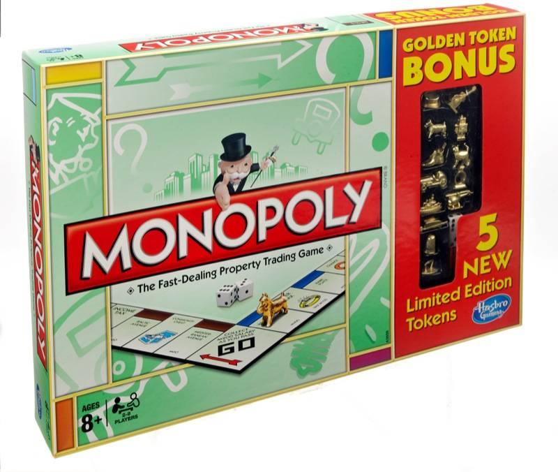 monopoly golden token edition
