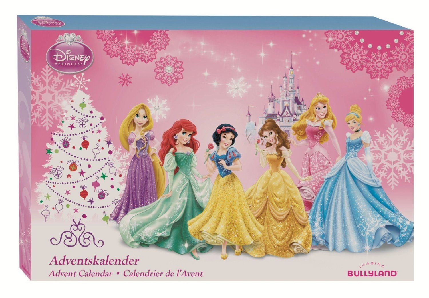 disney princess advent calendar christmas countdown. Black Bedroom Furniture Sets. Home Design Ideas