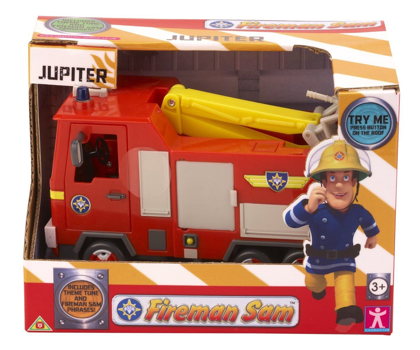 Best Fireman Sam Toys Kids : Fireman sam vehicle jupiter character options