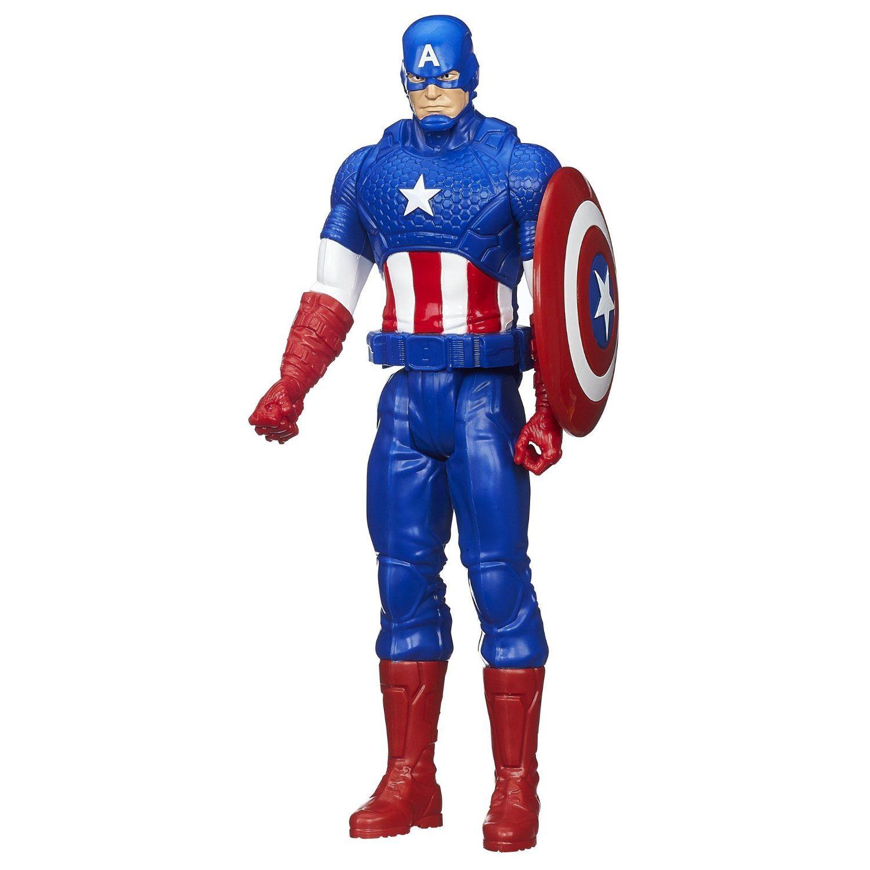 Best Super Hero Toys And Action Figures : Captain america titan hero series marvel avengers