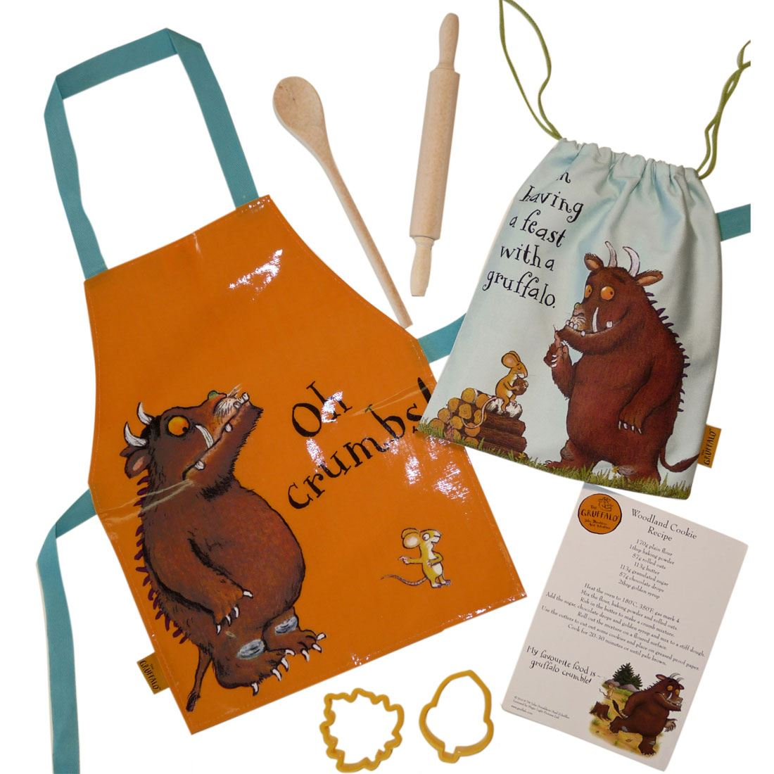 gruffalo kids baking set by shreds childrens cooking. Black Bedroom Furniture Sets. Home Design Ideas