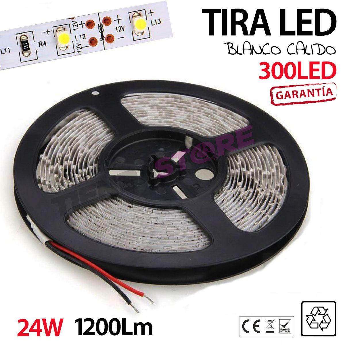 Tiras de luces led 5 metros 3528 blanco rollo led blanco - Tiras luces led ...