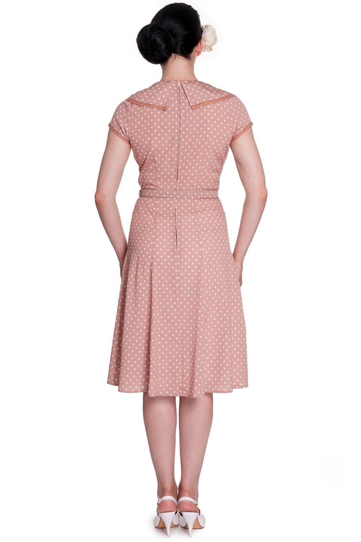 hell bunny vintage ingrid dress retro polka dots tea dress