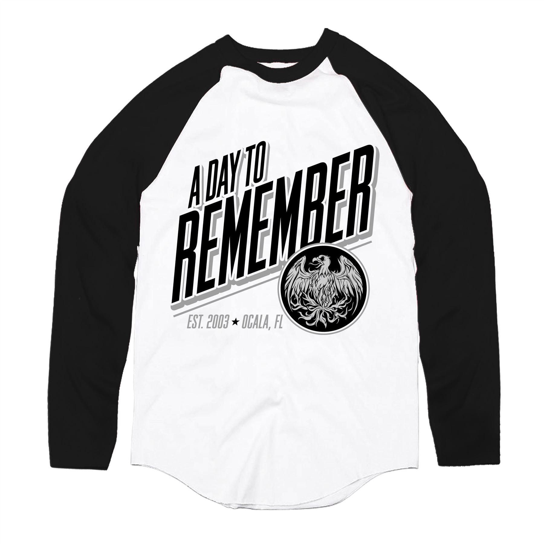 A Day To Remember Phoenix Baseball T-Shirt