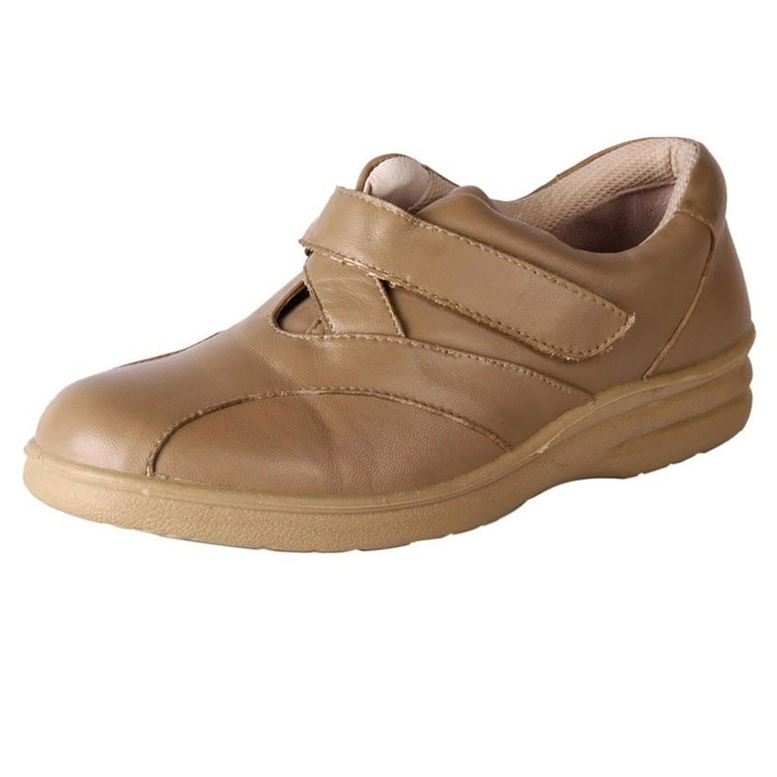 new comfort womens wide soft leather comfort walking