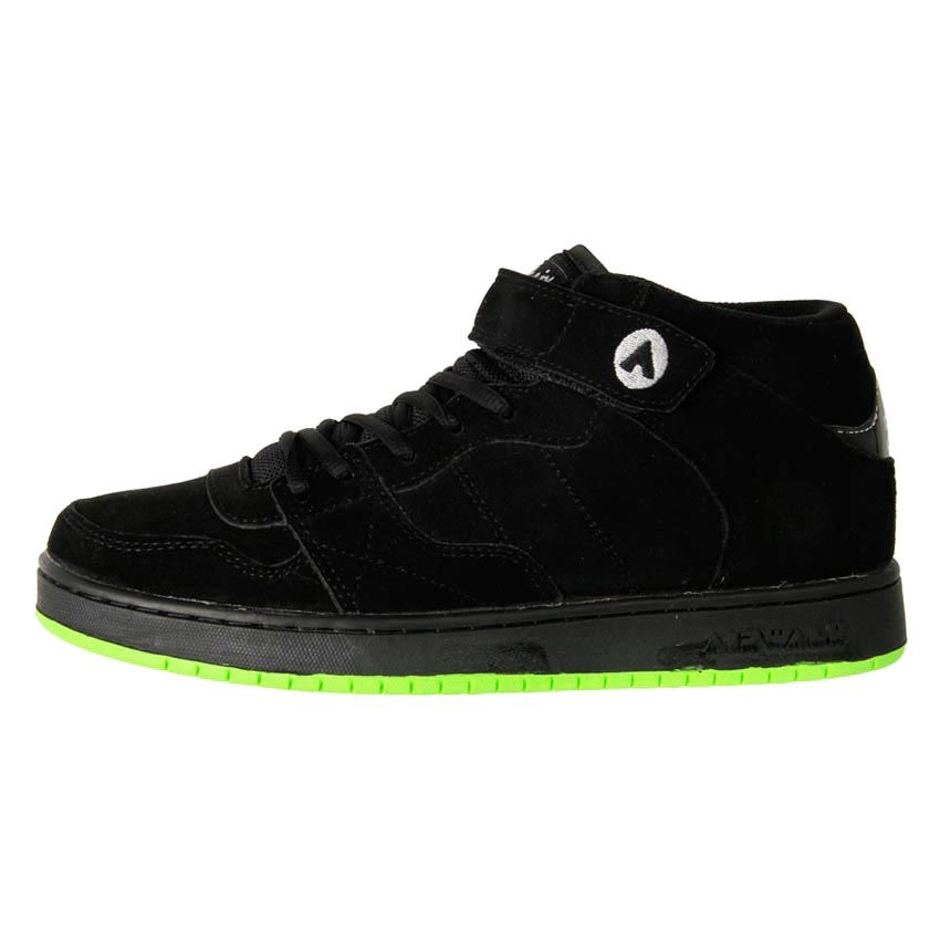 airwalk s leather suede chukka skate shoe hi top