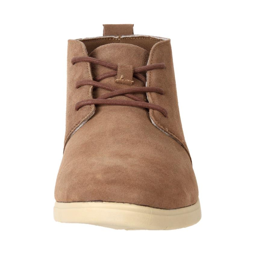 airwalk s comfort leather suede ankle desert boots