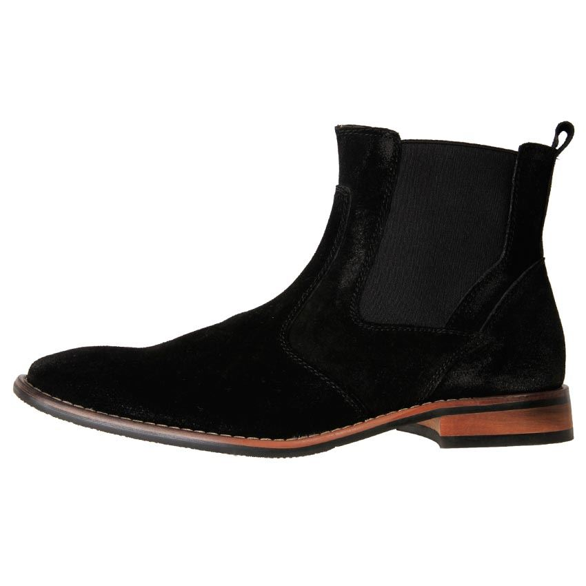 slatters s suede chelsea pull on ankle boots reno