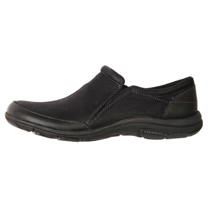 New Merrell Women's Leather Comfort Slip On Duty Work Shoe Dassie Moc Cheap | eBay