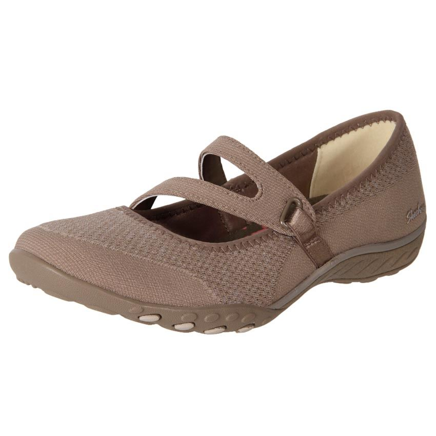 New Skechers Womenu0026#39;s Comfort Casual Mary Jane Work Shoes Breathe Easy Cheap | EBay