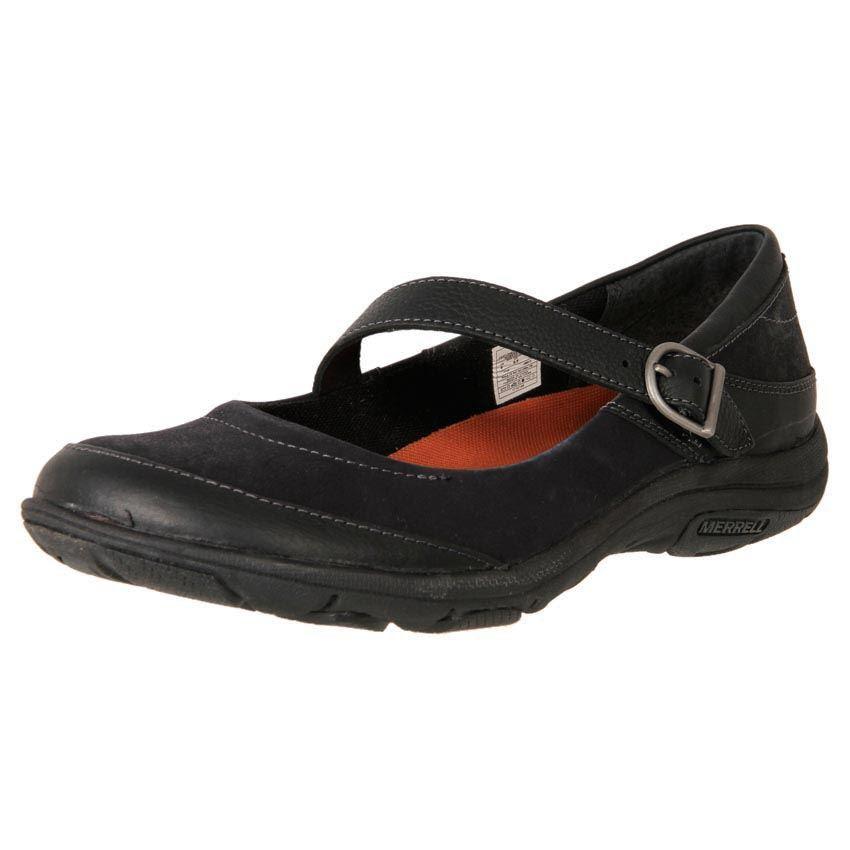 New Merrell Womenu0026#39;s Comfort Leather Duty Work Shoe Dassie Mary Jane Cheap   EBay