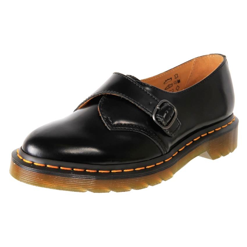 new genuine dr martens s leather dress pointed monk