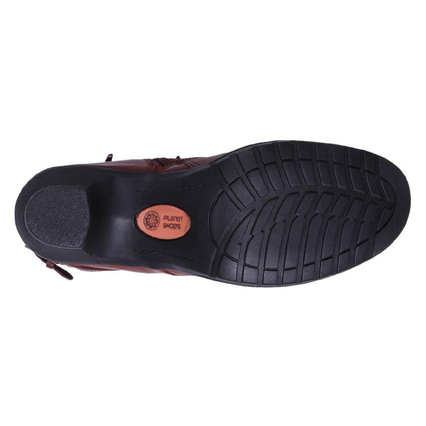 Planet-Shoes-Women-039-s-Comfort-Leather-Mid-Calf-Boots-Dame-Merlot-Cheap
