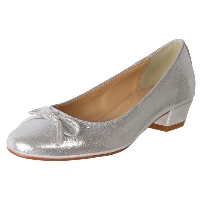 New Clarice Womens Satin Evening Deb Bridal Ballet Flat Shoe Evie Cheap